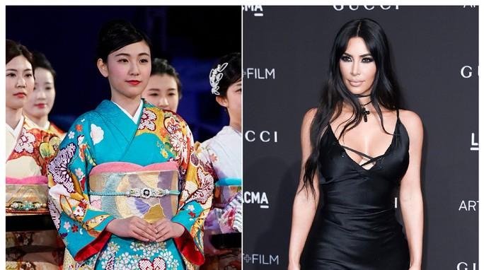 Kim Kardashian đặt tên mẫu nội y là Kimono, người Nhật phản ứng - Ảnh 3.