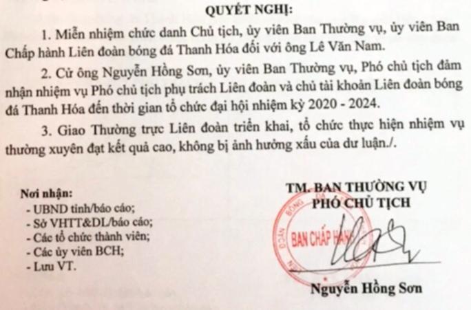 Phó giám đốc Đài PT-TH tỉnh phụ trách LĐBĐ Thanh Hóa sau khi Chủ tịch LĐBĐ tỉnh bị bắt - Ảnh 1.