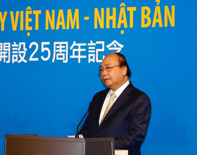 Thủ tướng dự lễ kỷ niệm 25 năm đường bay Việt Nam - Nhật Bản - Ảnh 1.