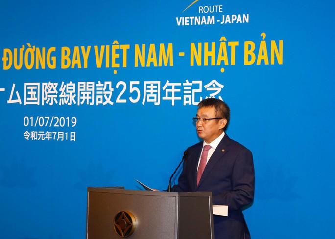 Thủ tướng dự lễ kỷ niệm 25 năm đường bay Việt Nam - Nhật Bản - Ảnh 4.