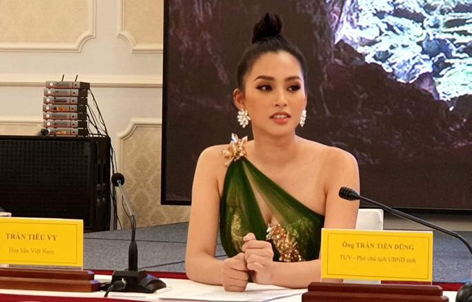 Hoa hậu Trần Tiểu Vy làm Đại sứ Lễ hội Hang động Quảng Bình năm 2019 - Ảnh 2.