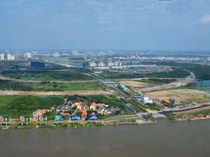 TP HCM sẽ đấu giá 4/15 lô đất vàng ở Thủ Thiêm - Ảnh 1.