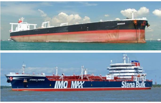 Iran bắt tàu chở dầu Anh ở Vùng Vịnh - Ảnh 1.