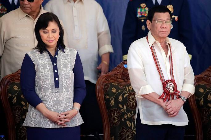"""Philippines buộc tội phó Tổng thống âm mưu """"nổi loạn"""" - Ảnh 1."""