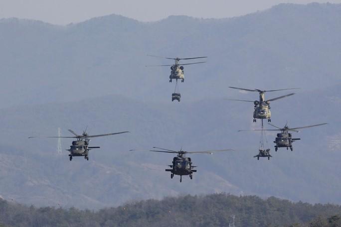 Mỹ-Hàn chuẩn bị tập trận chung, vi phạm cam kết với Triều Tiên? - Ảnh 1.
