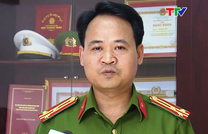 Bộ Công an bổ nhiệm Trưởng Công an TP Thanh Hóa - Ảnh 1.