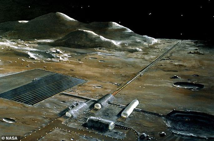 Mặt trăng của trái đất là kho bạch kim khổng lồ? - Ảnh 1.