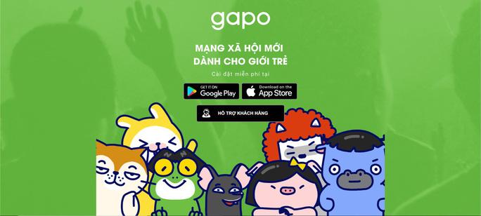 Mạng xã hội Việt Gapo mới ra mắt đã sập? - Ảnh 1.