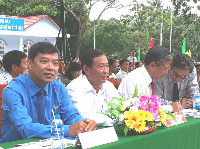 AN GIANG: CNVC-LĐ góp sức nâng cấp căn cứ địa cách mạng Ô Tà Sóc - Ảnh 1.