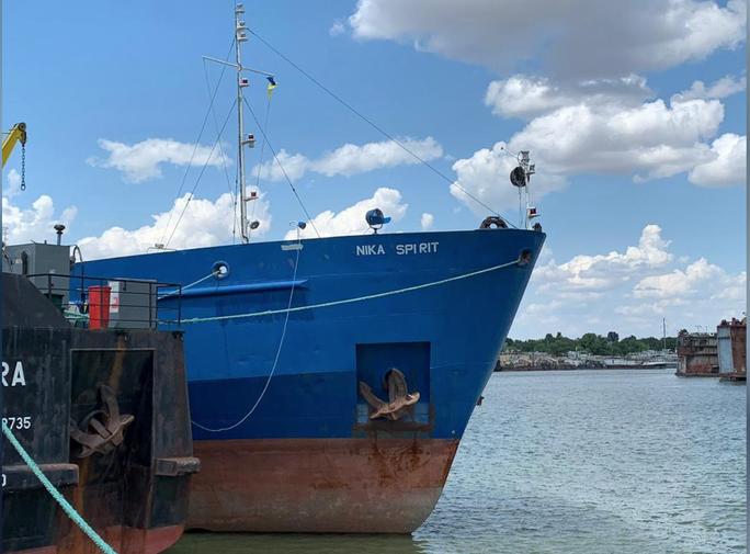 Ukraine bắt tàu chở dầu Nga, bị doạ sớm lãnh hậu quả - Ảnh 1.