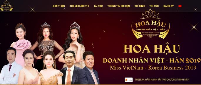 Dừng Gala gặp gỡ hoa hậu và nữ doanh nhân Việt - Hàn - Ảnh 1.