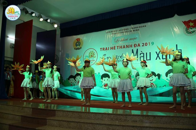 5.000 con CNVC-LĐ tham gia trại hè Thanh Đa - Ảnh 1.