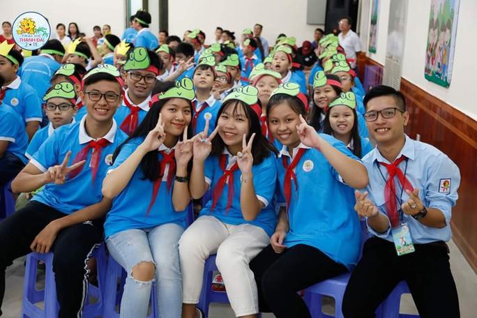 5.000 con CNVC-LĐ tham gia trại hè Thanh Đa - Ảnh 2.