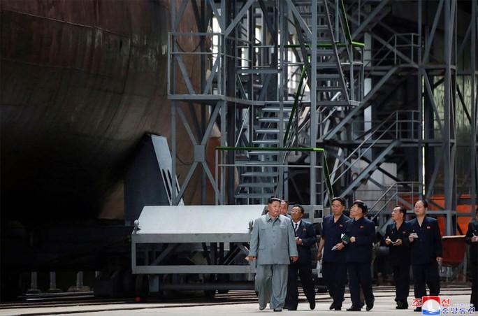 Lãnh đạo Kim lên tiếng về vụ thử nghiệm tên lửa mới - Ảnh 1.