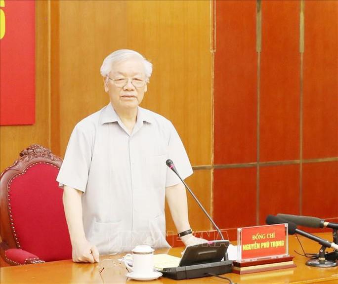 Tổng Bí thư, Chủ tịch nước chủ trì họp Ban Chỉ đạo Trung ương về phòng, chống tham nhũng - Ảnh 1.