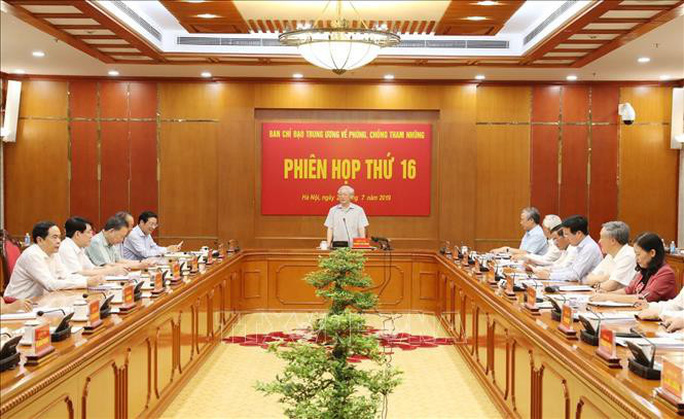 Tổng Bí thư, Chủ tịch nước chủ trì họp Ban Chỉ đạo Trung ương về phòng, chống tham nhũng - Ảnh 3.