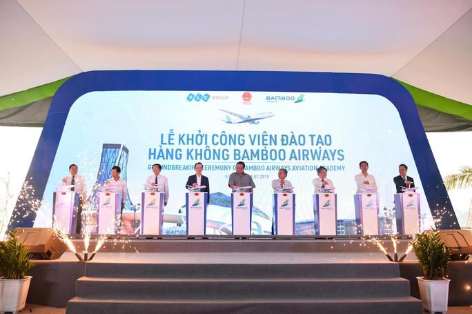 Bamboo Airways đầu tư gần 700 tỉ đồng xây dựng Viện Hàng không đào tạo phi công - Ảnh 2.