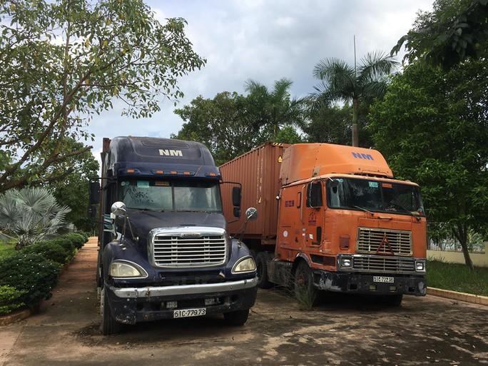 Hàng trong container xuất Äi Campuchia biến mất, doanh nghiá»p bá» khá»i tá» - Ảnh 1.