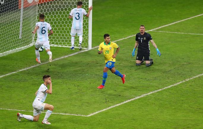 Quật ngã á quân Argentina, Brazil vào chung kết Copa America - Ảnh 8.