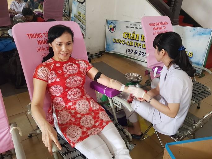 Hơn 600 đoàn viên tham gia hiến máu tình nguyện - Ảnh 2.