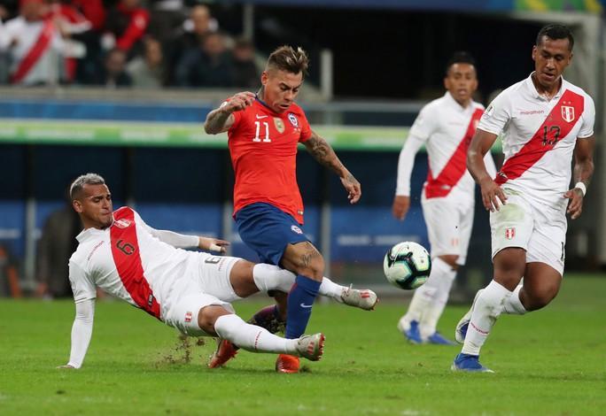 Peru gây sốc, loại ĐKVĐ Chile, vào chung kết Copa America 2019 - Ảnh 7.