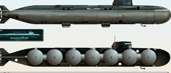 Bí mật bao trùm vụ cháy tàu ngầm Nga - Ảnh 1.
