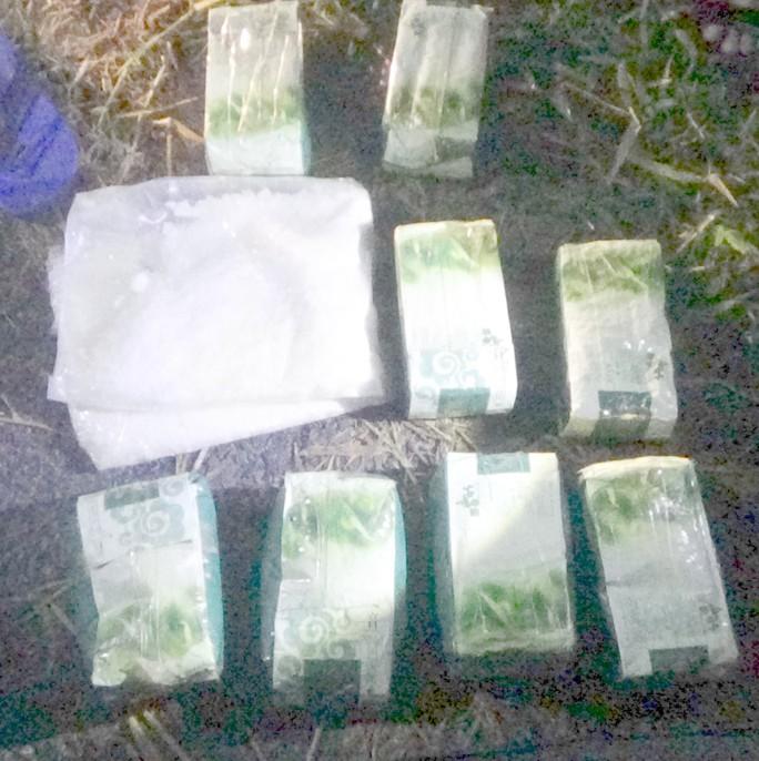 Tóm gọn nhóm vận chuyển hơn 10 kg ma túy lên TP HCM tiêu thụ - Ảnh 2.