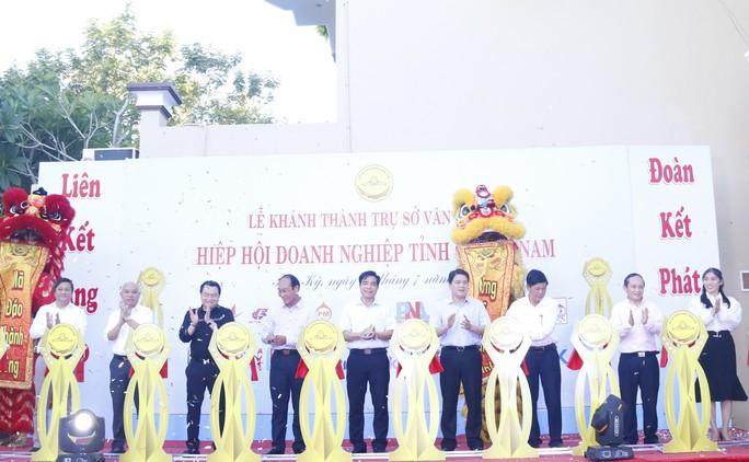 Hiệp hội Doanh nghiệp Quảng Nam có trụ sở mới khang trang - Ảnh 2.