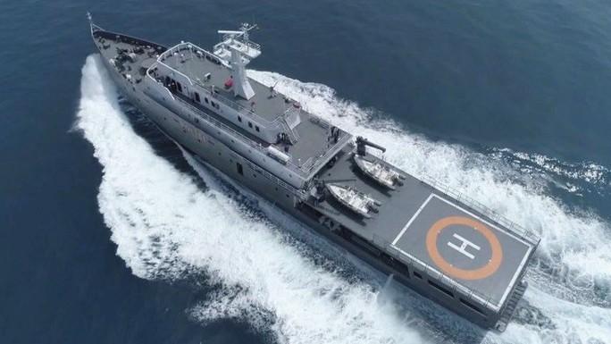 """Indonesia điều tàu """"khủng"""" tuần tra biển Đông - Ảnh 1."""