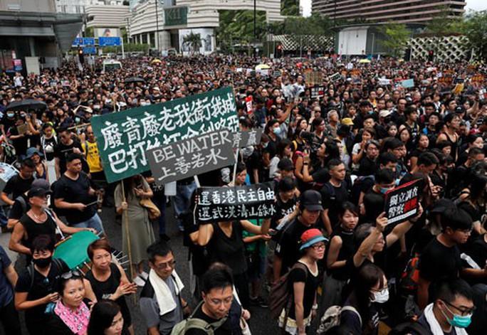 Biểu tình ở Hồng Kông: Người lớn tuổi ủng hộ giới trẻ - Ảnh 1.