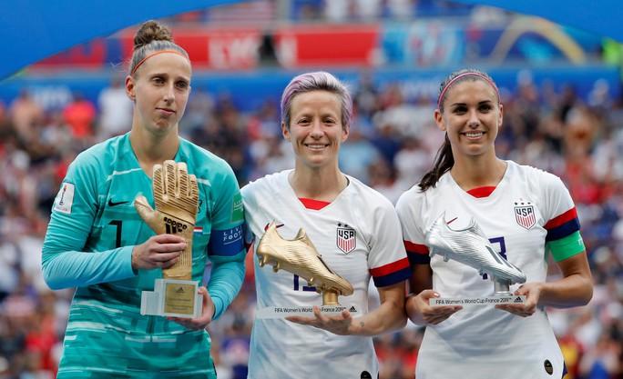 Tuyển nữ Mỹ giữ vững ngôi vương World Cup - Ảnh 5.