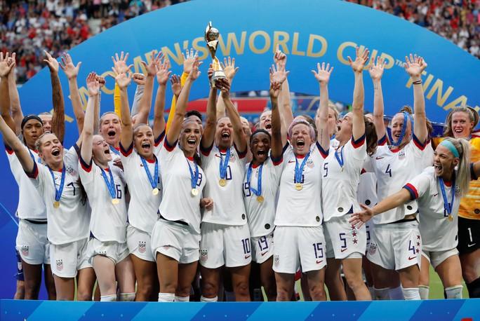 Tuyển nữ Mỹ giữ vững ngôi vương World Cup - Ảnh 4.