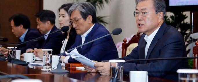 Hàn Quốc dọa trả đũa thương mại Nhật Bản - Ảnh 1.