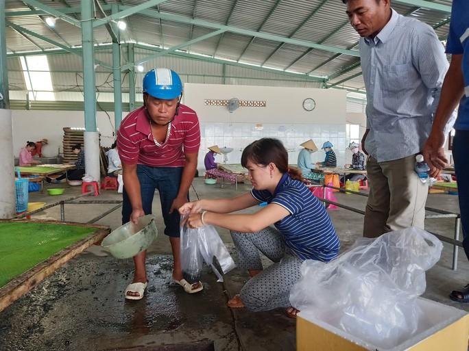 Dân bao vây cơ sở chế biến hải sản không phép nghi xả thải ra môi trường - Ảnh 5.