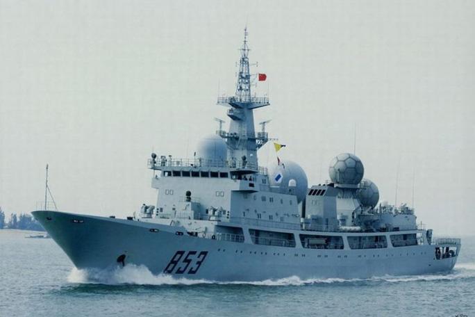 Tàu Trung Quốc do thám cuộc tập trận Mỹ-Úc bị lộ hành tung - Ảnh 1.