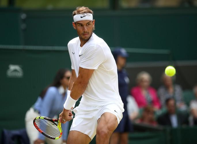 Vào tứ kết Wimbledon 2019, Nadal tự ti vì kém đồng nghiệp nữ - Ảnh 1.