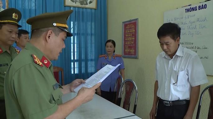 Gian lận điểm thi ở tỉnh Sơn La: Truy tố 8 bị can - Ảnh 1.