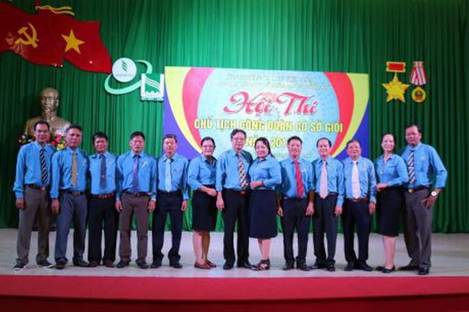 Hội thi Chủ tịch Công đoàn cơ sở giỏi ngành cao su - Ảnh 1.