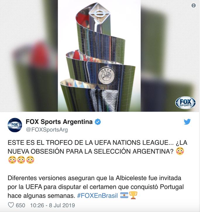 Bỏ Copa America, Argentina sang châu Âu dự Nations League? - Ảnh 6.