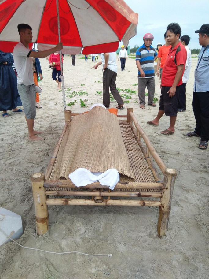 Tìm thấy thi thể nam sinh Đà Nẵng tại bờ biển Quảng Nam - Ảnh 1.