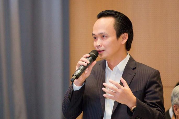 Ông Trịnh Văn Quyết nói về bài toán lãi-lỗ khi bay thẳng đến Mỹ - Ảnh 1.