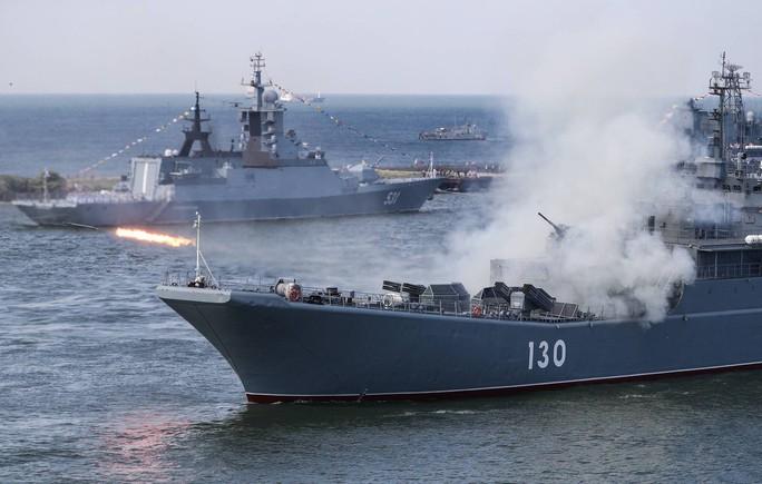 Nga tập trận quy mô trên biển Baltic - Ảnh 1.