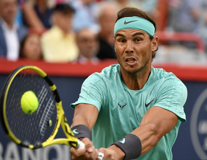Clip Nadal ngược dòng vào bán kết Rogers Cup 2019 - Ảnh 4.