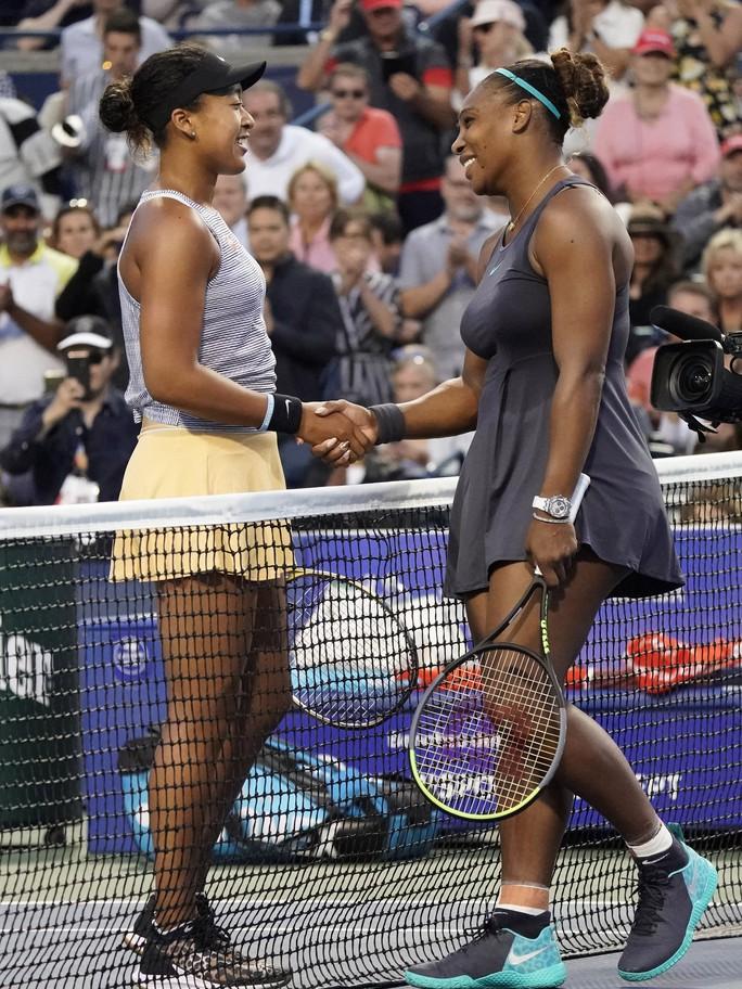Serena Williams thỏa mãn khi phục hận thành công trước Naomi Osaka - Ảnh 1.