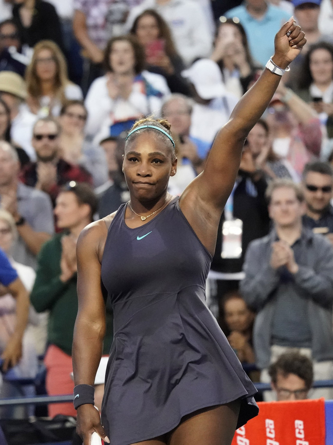 Serena Williams thỏa mãn khi phục hận thành công trước Naomi Osaka - Ảnh 7.