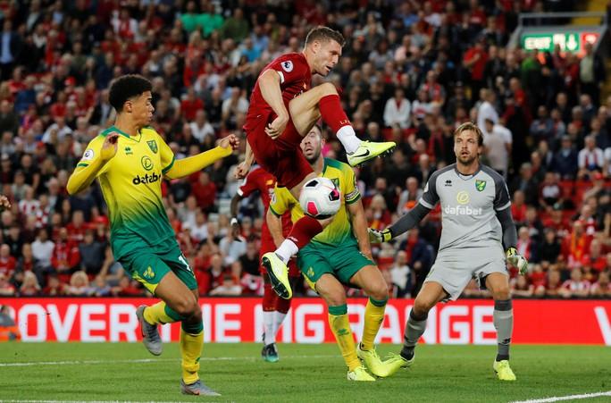 Khai mạc Ngoại hạng Anh, Liverpool hủy diệt tân binh Norwich - Ảnh 3.