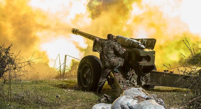 Quân của ông Assad phá được tường ở Syria - Ảnh 1.