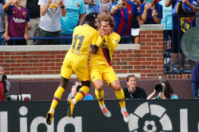 Barcelona – Napoli: Tân binh Griezmann tỏa sáng, thắng bùng nổ hiệp 2 - Ảnh 6.