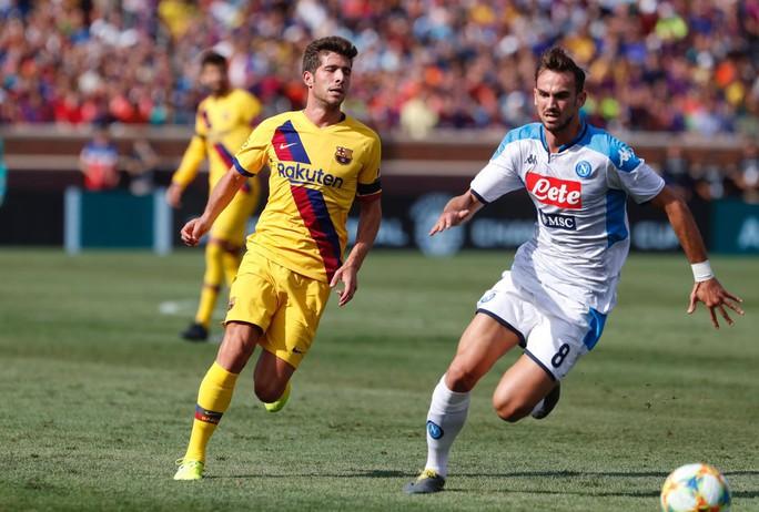 Barcelona – Napoli: Tân binh Griezmann tỏa sáng, thắng bùng nổ hiệp 2 - Ảnh 1.