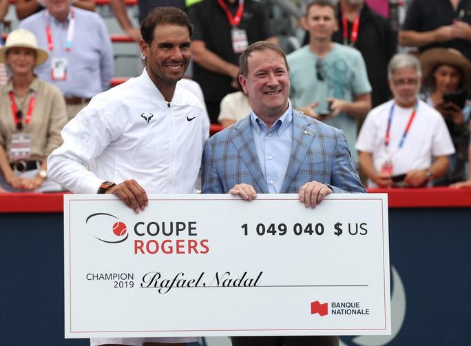 Vô địch Rogers Cup 2019, Nadal giành danh hiệu thứ 35 ATP Masters - Ảnh 5.